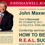 John Maxwell in Romania